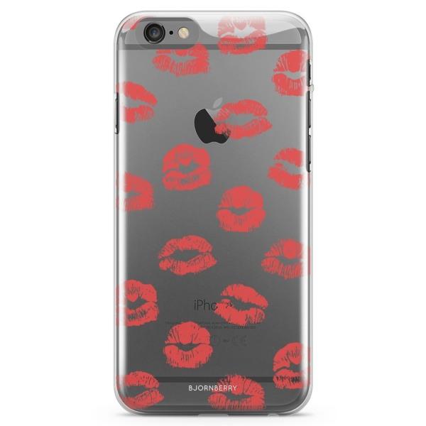 Bjornberry iPhone 6/6s TPU Skal - Läppar