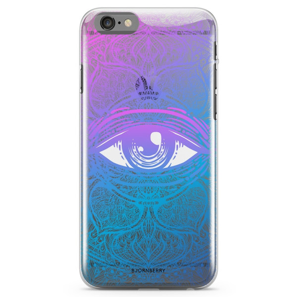 Bjornberry iPhone 6/6s TPU Skal - Mandala Öga