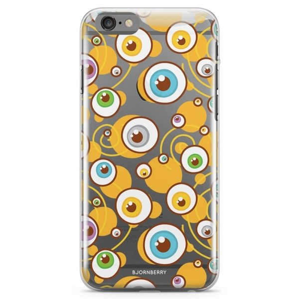 Bjornberry iPhone 6/6s TPU Skal - Ögon Mönster