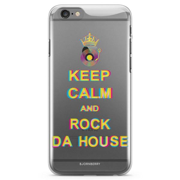 Bjornberry iPhone 6/6s TPU Skal - Rock Da House