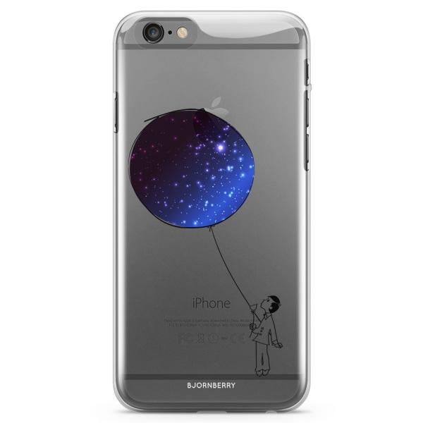 Bjornberry iPhone 6/6s TPU Skal - Rymd ballong