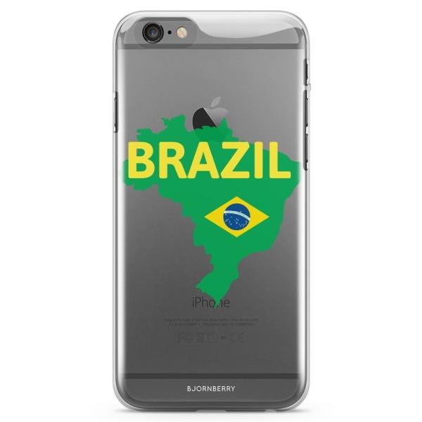 Bjornberry iPhone 6 Plus/6s Plus TPU Skal - Brazil