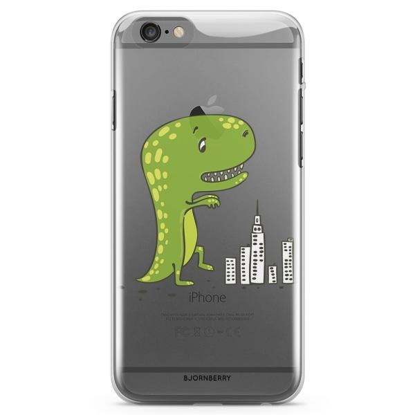 Bjornberry iPhone 6 Plus/6s Plus TPU Skal - Dinosaurie