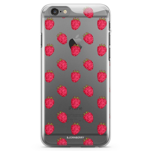 Bjornberry iPhone 6 Plus/6s Plus TPU Skal - Hallon