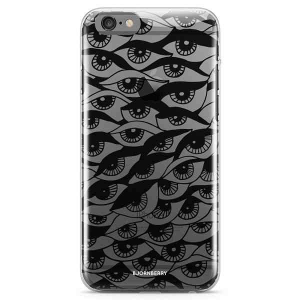 Bjornberry iPhone 6 Plus/6s Plus TPU Skal - Ögon