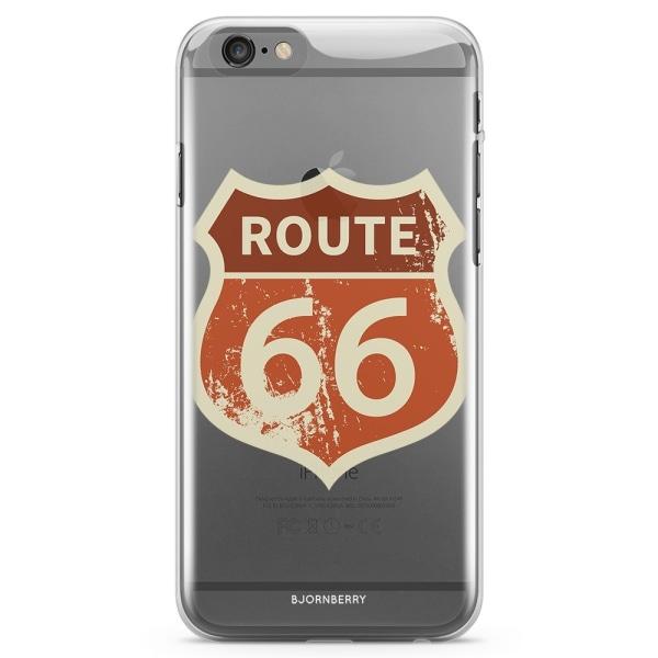 Bjornberry iPhone 6 Plus/6s Plus TPU Skal - Route 66