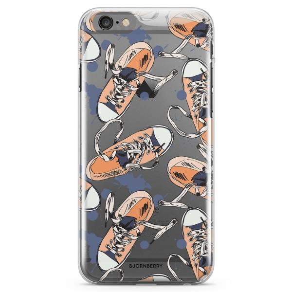Bjornberry iPhone 6 Plus/6s Plus TPU Skal - Skomönster