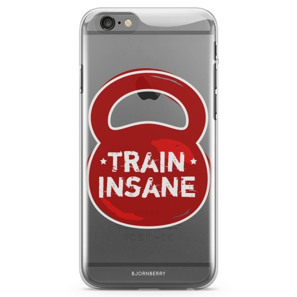 Bjornberry iPhone 6 Plus/6s Plus TPU Skal - Train Insane