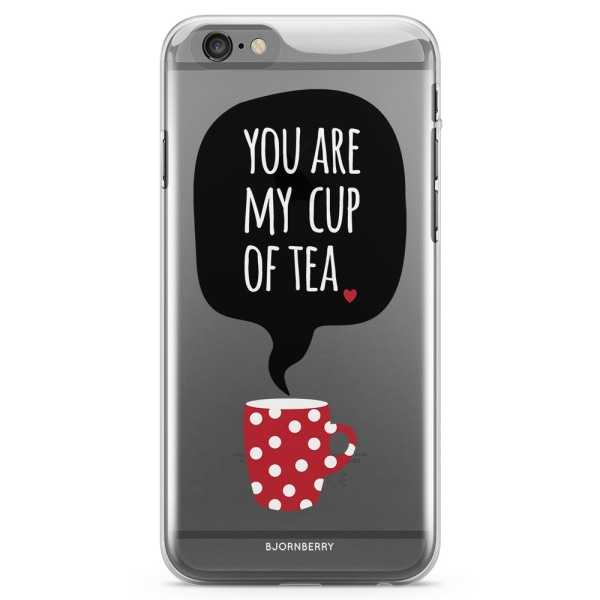 Bjornberry iPhone 6 Plus/6s Plus TPU Skal - You Are My Cup Of