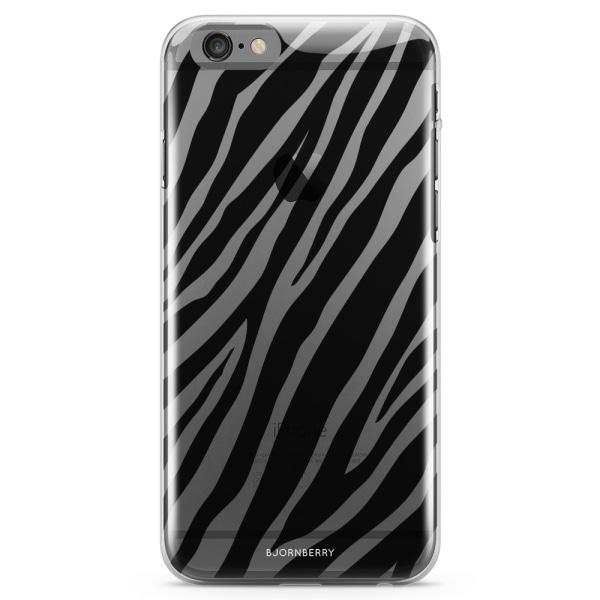 Bjornberry iPhone 6 Plus/6s Plus TPU Skal - Zebra