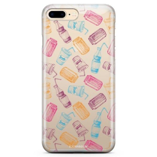 Bjornberry iPhone 7 Plus TPU Skal - Läsk