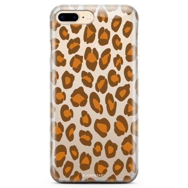 Bjornberry iPhone 7 Plus TPU Skal - Leopard