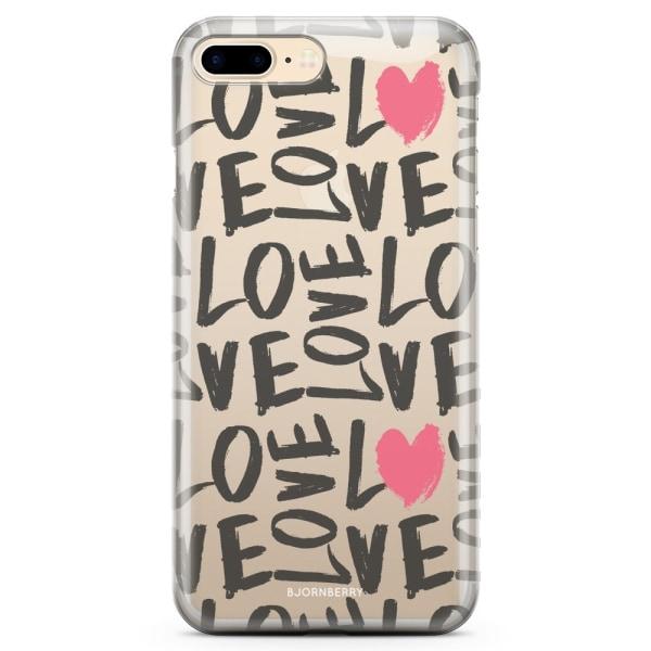 Bjornberry iPhone 7 Plus TPU Skal - lovelovelove