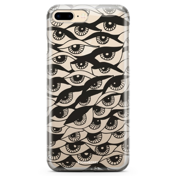 Bjornberry iPhone 7 Plus TPU Skal - Ögon