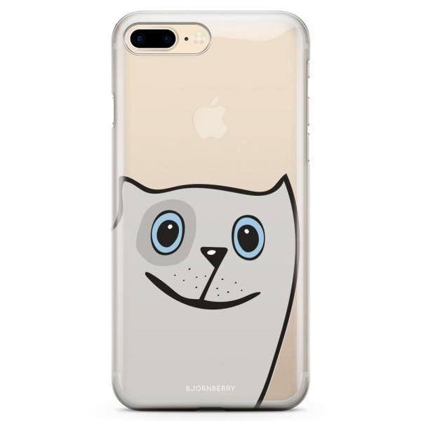 Bjornberry iPhone 7 Plus TPU Skal - Rolig Katt