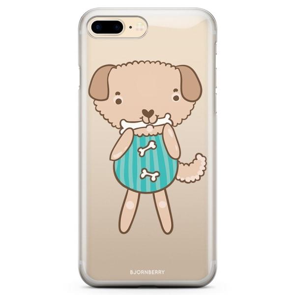 Bjornberry iPhone 7 Plus TPU Skal - Söt Hund