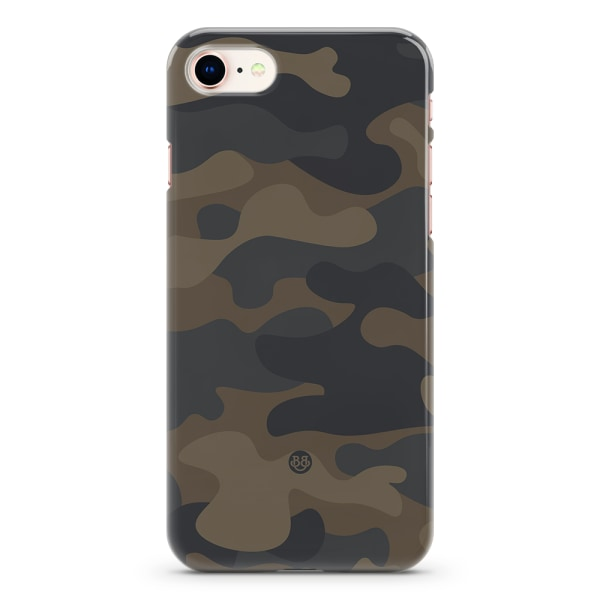 Bjornberry iPhone 7 Premium Skal - Dark Camo