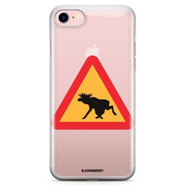 Bjornberry iPhone 7 TPU Skal - Älgskylt