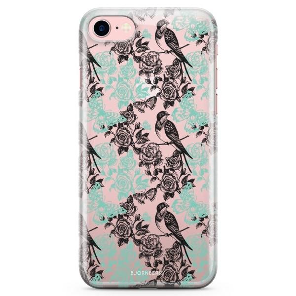 Bjornberry iPhone 7 TPU Skal - Fåglar