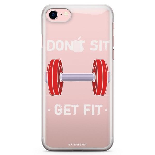 Bjornberry iPhone 7 TPU Skal - Get Fit