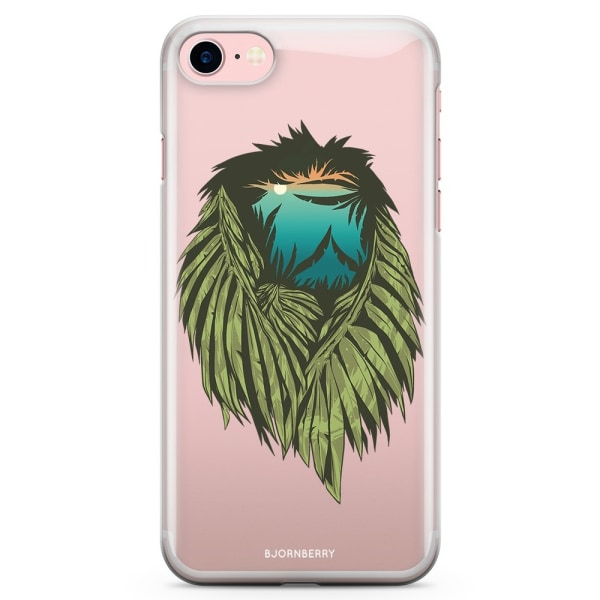 Bjornberry iPhone 7 TPU Skal - Löv Lejon