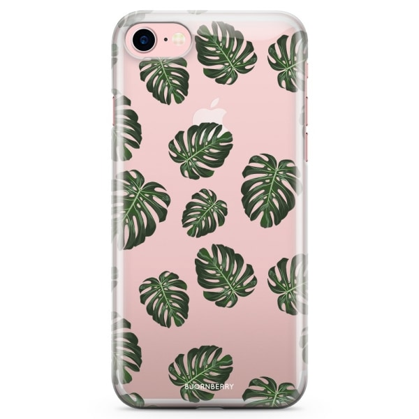 Bjornberry iPhone 7 TPU Skal - Monstera Mönster