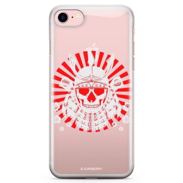 Bjornberry iPhone 7 TPU Skal - Samurai Döskalle