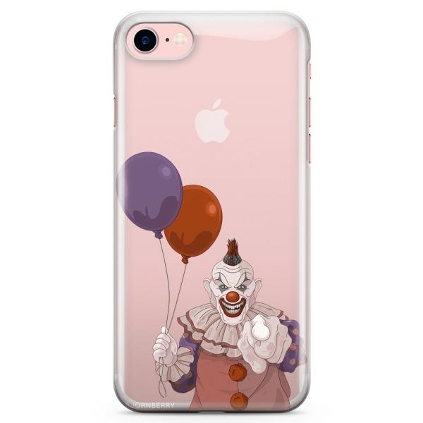 Bjornberry iPhone 7 TPU Skal - Scary Clown