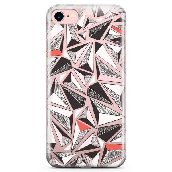 Bjornberry iPhone 7 TPU Skal - Triangelmönster