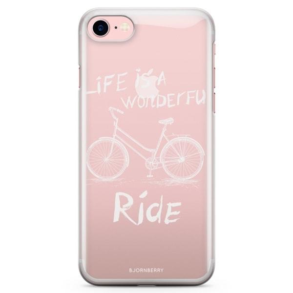 Bjornberry iPhone 7 TPU Skal - Wonderful Ride