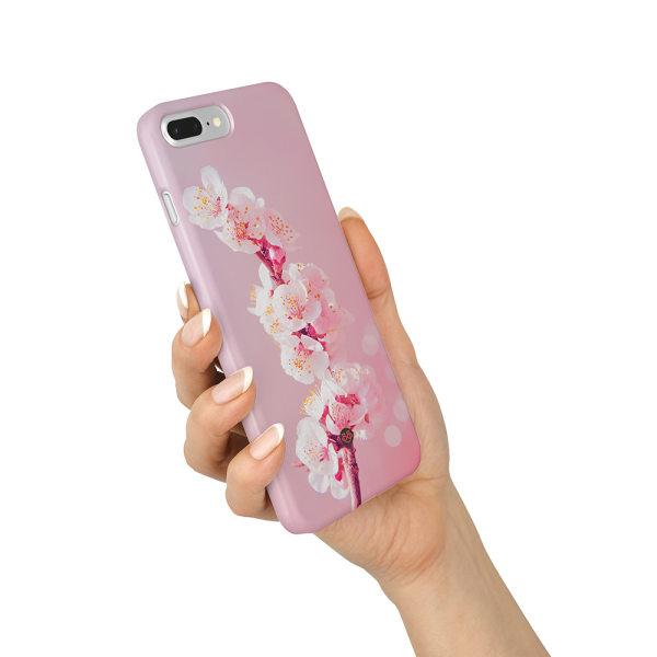 Bjornberry iPhone 8 Plus Premium Skal - Cherry Blossom
