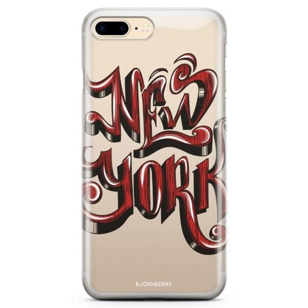 Bjornberry iPhone 8 Plus TPU Skal - New York