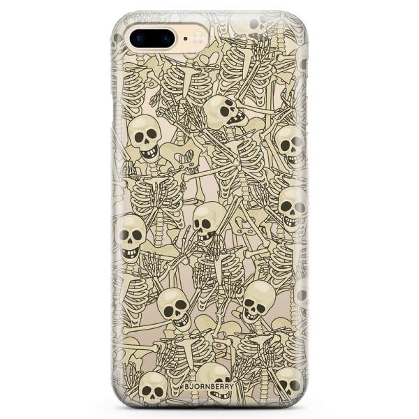 Bjornberry iPhone 8 Plus TPU Skal - Skelett