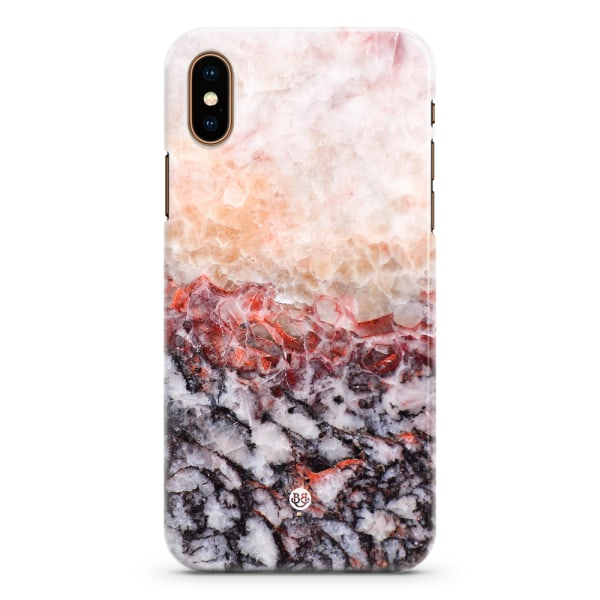 Bjornberry iPhone XS Max Premium Skal - Dragon Marble