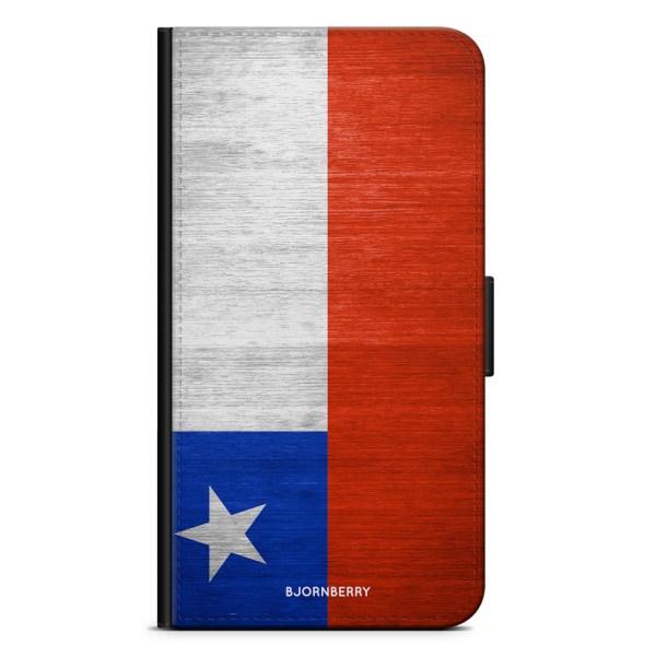 Bjornberry OnePlus 5T Plånboksfodral - Chiles Flagga