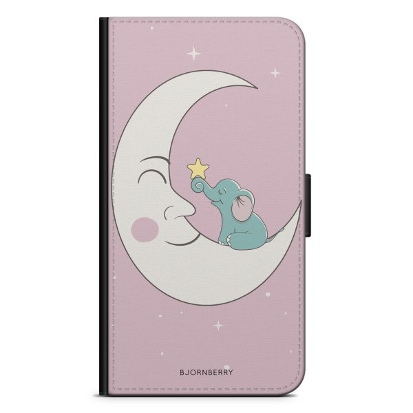 Bjornberry OnePlus 5T Plånboksfodral - Elefant Måne
