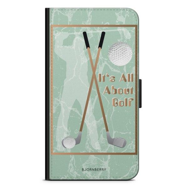 Bjornberry Oneplus 5t Plånboksfodral - It's All About Golf