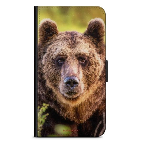 Bjornberry OnePlus 5T Plånboksfodral - Tittande Björn