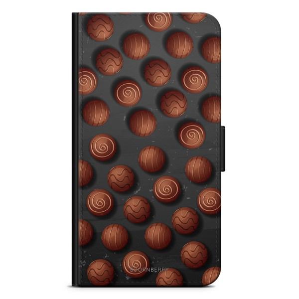 Bjornberry Plånboksfodral HTC 10 - Choklad