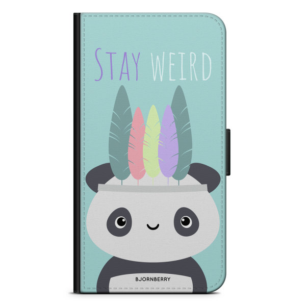 Bjornberry Plånboksfodral Huawei Honor 10 - Stay Weird
