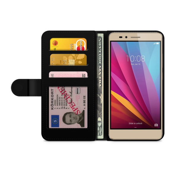 Bjornberry Plånboksfodral Huawei Honor 5X - Retro Moln