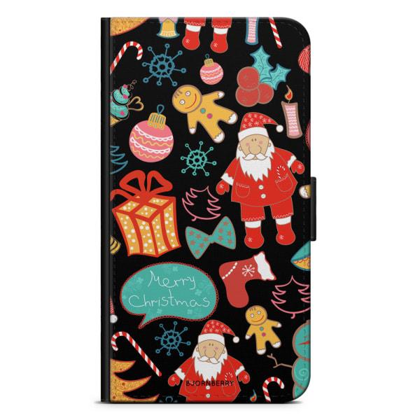 Bjornberry Plånboksfodral Huawei Honor 8 - Julmönster