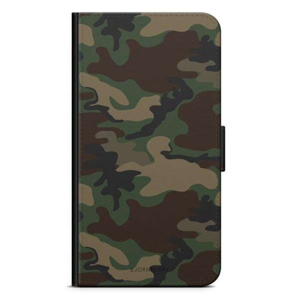 Bjornberry Plånboksfodral Huawei Honor 8 - Kamouflage