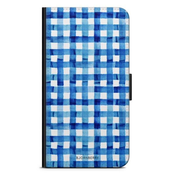 Bjornberry Plånboksfodral Huawei Honor 9 - Blå Ränder