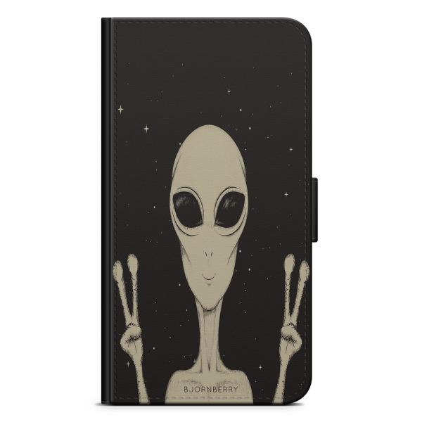 Bjornberry Plånboksfodral Huawei Honor 9 - Peace Alien