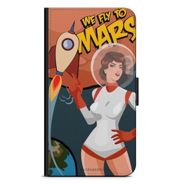Bjornberry Plånboksfodral Huawei Honor 9 - We Fly To Mars