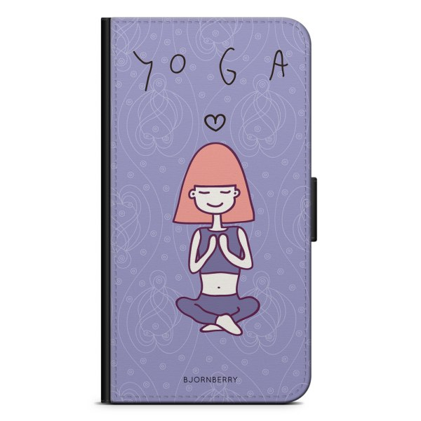 Bjornberry Plånboksfodral Huawei Honor 9 - Yoga Girl