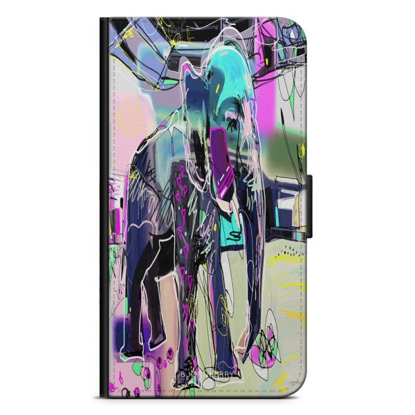 Bjornberry Plånboksfodral Huawei Mate 8 - Abstrakt Elefant