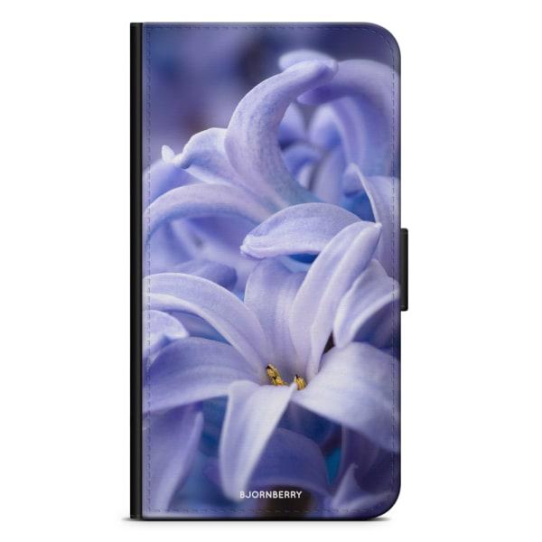 Bjornberry Plånboksfodral Huawei Mate 8 - Blå blomma