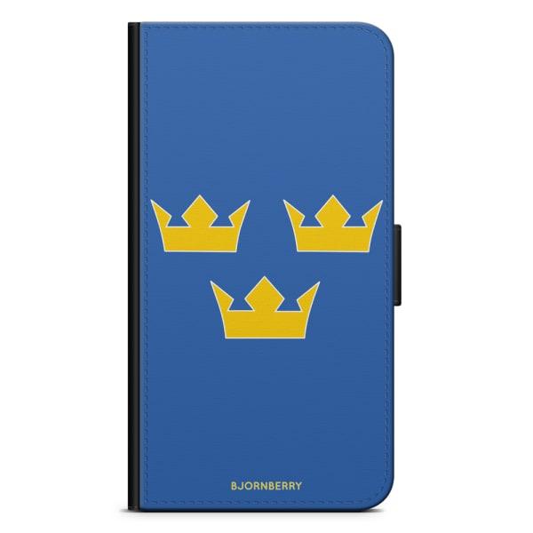 Bjornberry Plånboksfodral Huawei Mate 8 - Tre Kronor